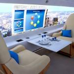 Avionul viitorului, fără geamuri !