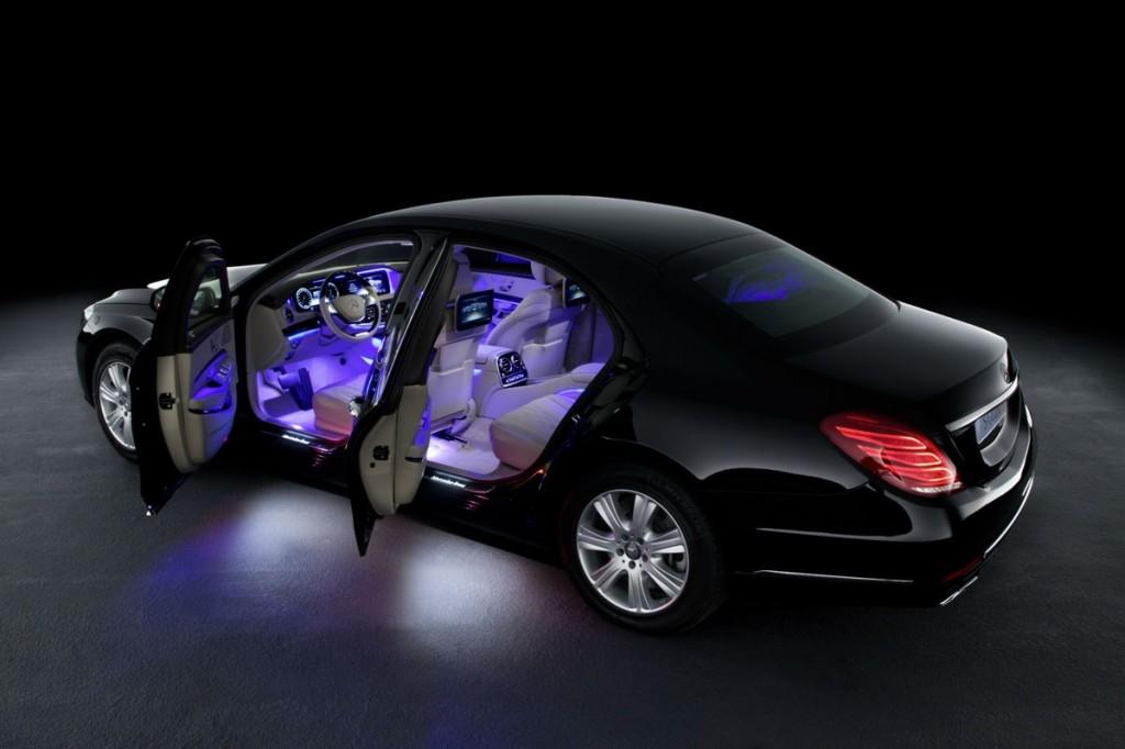 Mercedes-interior