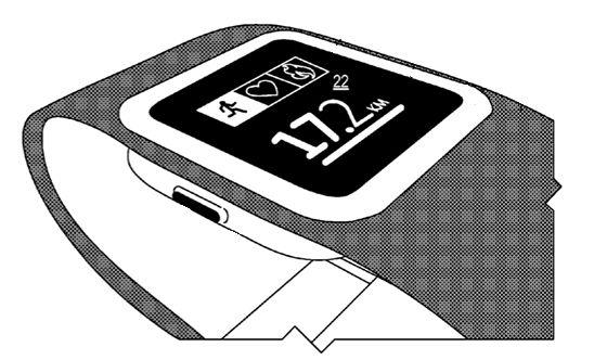 Microsoft smartwathc patent