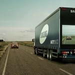 Samsung inovează depășirea TIR-urilor din trafic