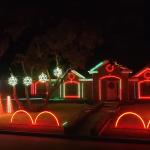 Vezi cum arată cea mai tare instalație de Crăciun