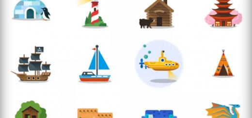 Google-stickere-harti