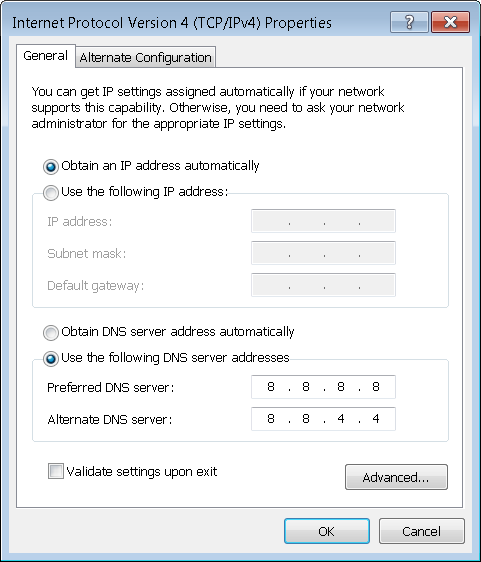 Google-DNS