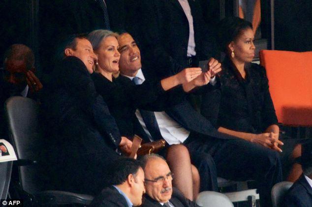 Obama-seflie