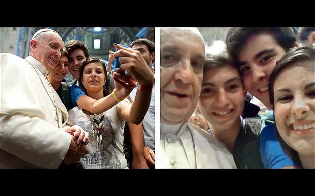vatican-selfie
