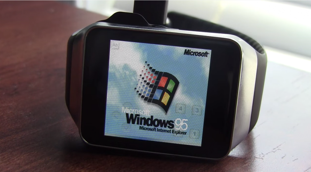 Samsung Gear Live - Windows 95