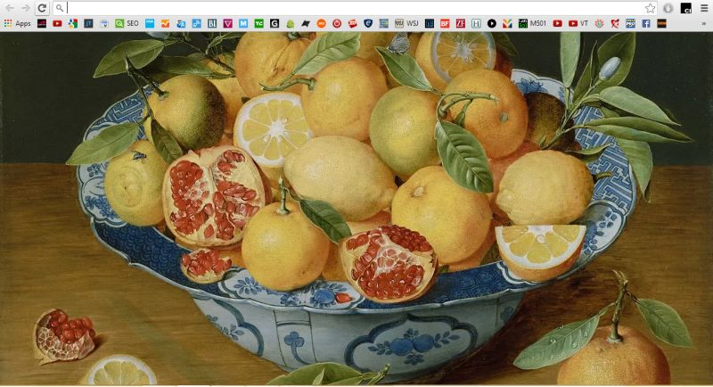 Still Life with Lemonss