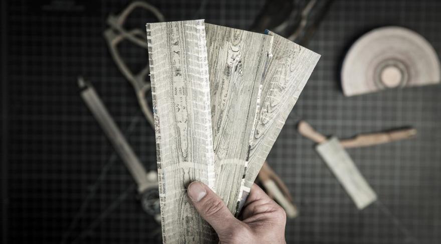 ziar-reciclat-cu-aspect-de -lemn