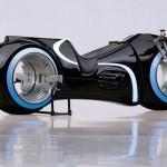 Un fan a cumpărat motocicleta SF din filmul Tron