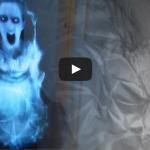 Holograma 3D. Super farsă cu fetița-fantomă!
