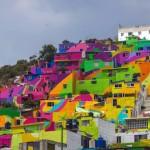 Vezi aici transformarea incredibilă a cartierului Palmitas din Mexic