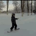 Droneboarding-ul este cel mai nou și tare sport de iarnă!