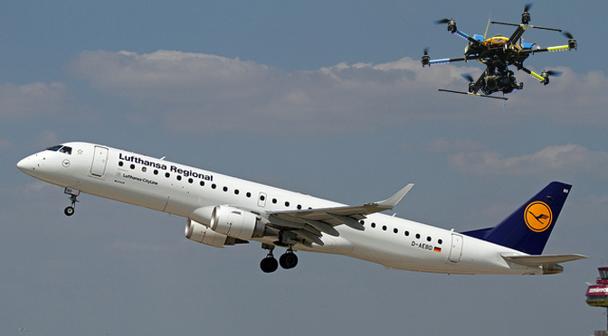 Lufthansa-drone