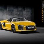 R8 Spyder este cea mai puternică decapotabilă de la Audi