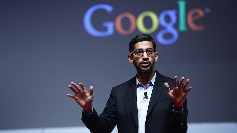 Sundar Pichai, CEO-ul Google