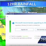 Vremea întreruptă de actualizarea Windows 10