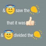 OK! Biblia a fost tradusă cu ajutorul emoticonurilor :))