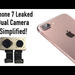 Dual-Camera pentru iPhone 7?