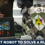 Robotul ăsta rezolvă orice cub Rubik în mai puțin de o secundă